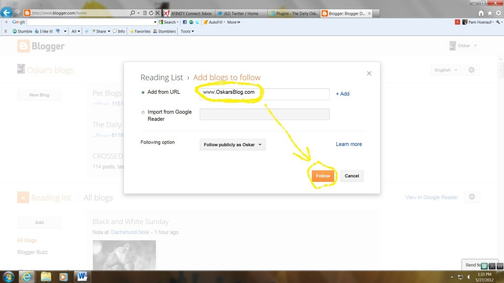 how to add like us on facebook button to blogger